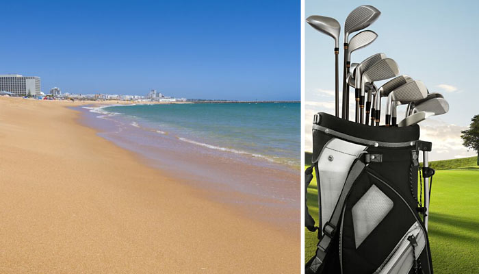 Pic:Vilamoura Beach and Golf